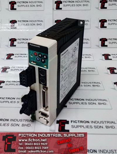 MADDT1207 PANASONIC AC Servo Drive 240V 2.0A 90.3V 1.6A 333.3Hz 200W Supply & Repair Fictron Industrial Supplies