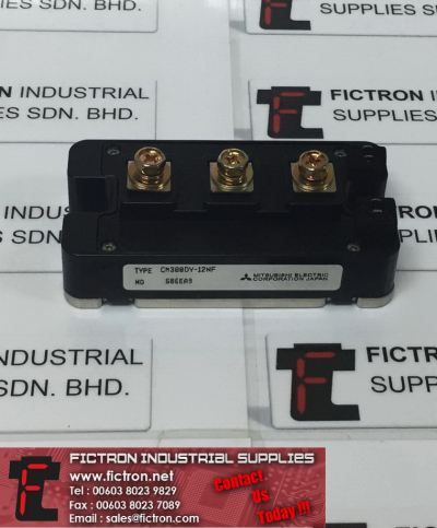 CM300DY-12NF CM300DY12NF MITSUBISHI ELECTRIC Power Module Supply, Sale By Fictron Industrial Supplies