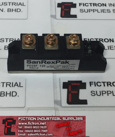PD25F-120 PD25F120 SanRexPak Power Module SANSHA ELECTRIC Supply, Sale By Fictron Industrial Supplies