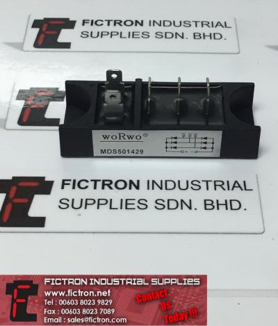 MDS501429 woRwo Power Module Power Rectifier Supply Fictron Industrial Supplies