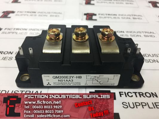 QM200E2Y-HB QM200E2YHB MITSUBISHI ELECTRIC Power Module Supply, Sale By Fictron Industrial Supplies