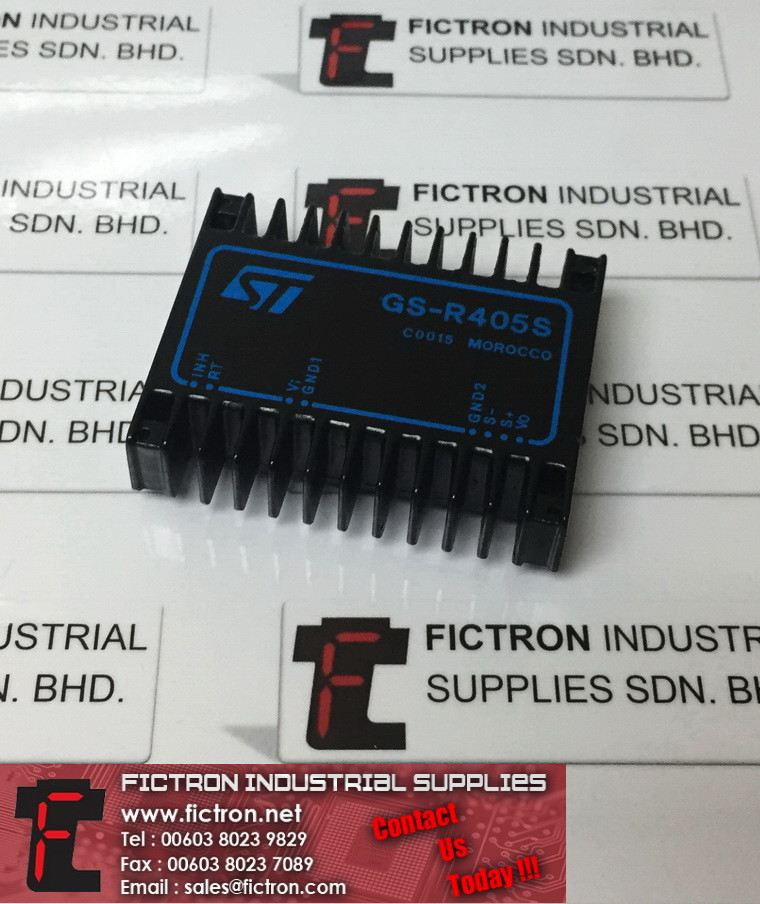 GS-R405S GSR405S ST MICROELECTRONICS PCB Mount Power Supply Supply Fictron Industrial Supplies ST Microelectronics Power Supply