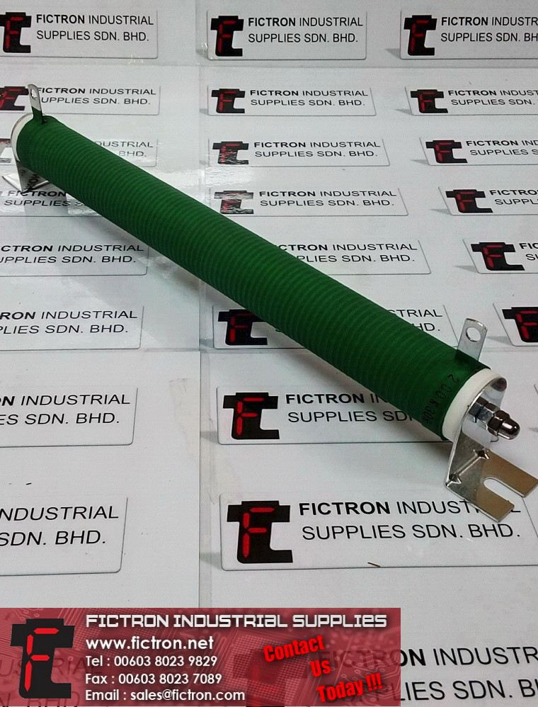 200W30RJ 30 Ohm 200W Braking Resistor SIKES Wire Wound Supply, Sale By Fictron Industrial Supplies Fictron Resistors