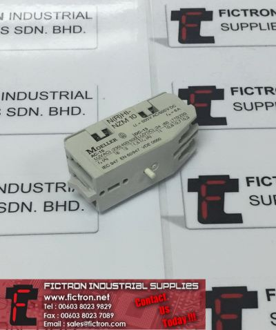 NHI-NZM10 NHINZM10 MOELLER Standard Auxiliary Contact Ui 500V 600VDC Supply Fictron Industrial Supplies