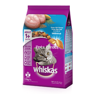 Whiskas® Dry Adult 1+ Ocean Fish Flavour Cat Food