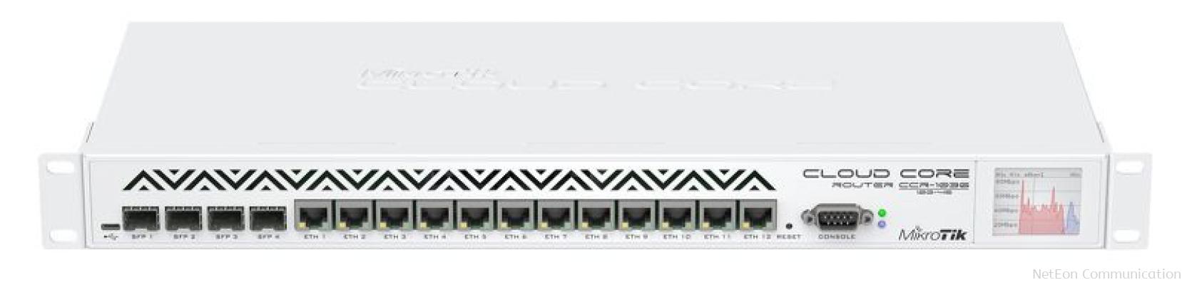 MikroTik CCR1036-12G-4S Load Balancing Router