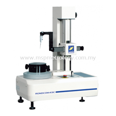 Accretech Roundness and Cylindrical Profile Measuring Instruments (RONDCOM43C/43C-S/41C/31C Series)