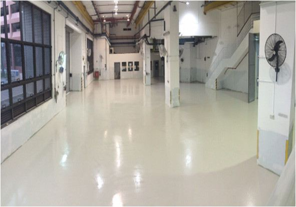 Production and Workshop Area Epoxy Flooring Works for Different Floor Purposes Singapore, Bukit Batok Contractor, Specialist, Company | FORTRAN SINGAPORE PTE. LTD.
