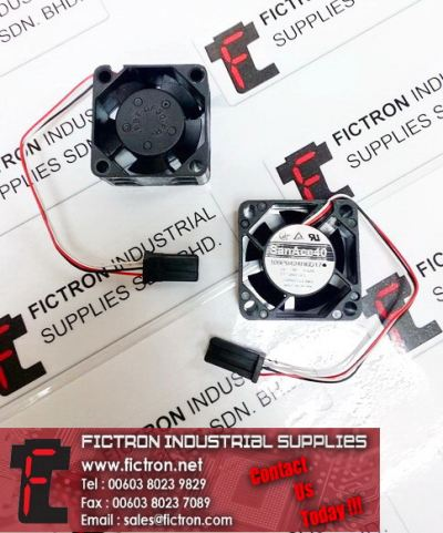109P0424H6D17 24VDC 0.07A SanAce40 Cooling Fan Supply, Sale By Fictron Industrial Supplies
