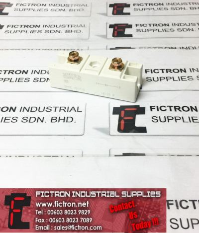 SKKE 301F12 SKKE301F12 SEMIKRON SEMIPACK 2 Power Module Power Diode Supply Fictron Industrial Supplies