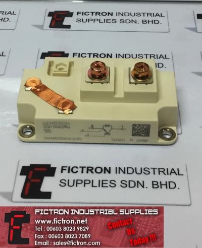 SKM500GA123D SEMIKRON SEMITRANS M Power Module Supply, Sale By Fictron Industrial Supplies