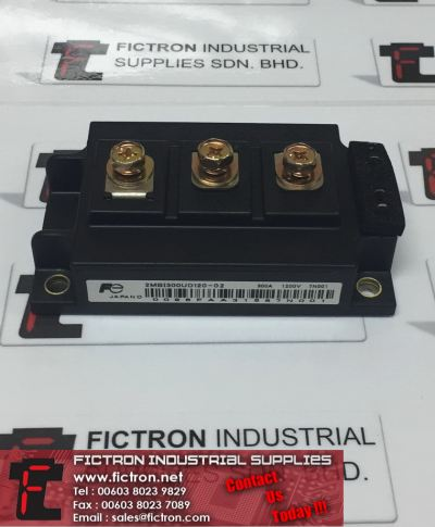 2MBI300UD120-02 2MBI300UD12002 300A 1200V FUJI ELECTRIC Power Module Supply, Sale By Fictron Industrial Supplies