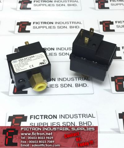 PS3-AF1HNS PS3AF1HNS 6FLA 36LRA 240VAC ALCO CONTROLS Pressure Control Valve Supply, Sale By Fictron Industrial Supplies