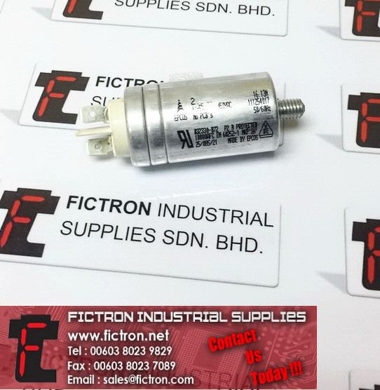 B32330-B72 P2 B B32330B72 EPCOS AC Film Capacitor 450VAC Supply, Sale By Fictron Industrial Supplies EPCOS  Capacitors