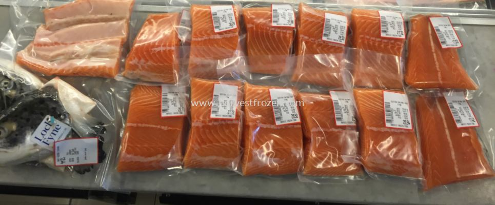 Fresh Salmon Whole - Cut