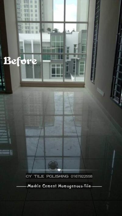Homogenous Tile Polishing