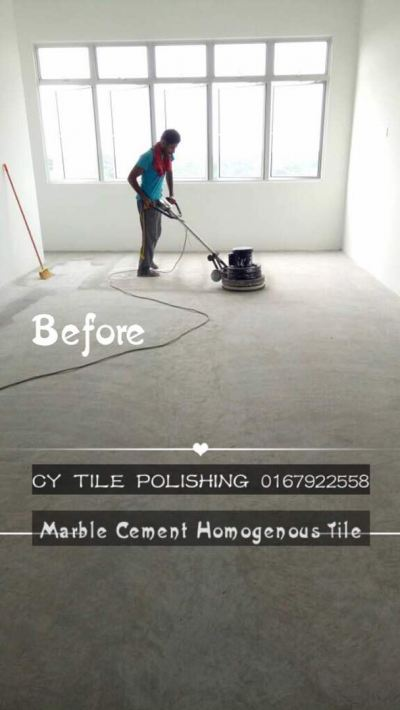 Cement Floor Grinding & Buffing
