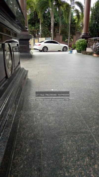 Granite Flooring Polishing