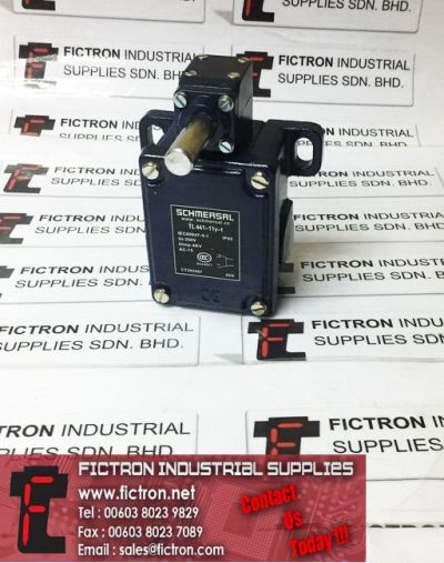 TL441-11Y-T TL44111YT CT203467 SCHMERSAL 250VAC 4KV AC-15 IP65 Limit Switch Supply, Sale By Fictron Industrial Supplies