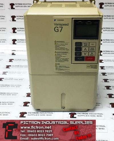 CIMR-G7A45PT CIMRG7A45PT 45P51C YASKAWA 400V 5.5kW AC Inverter Drive Supply & Repair Fictron Industrial Supplies