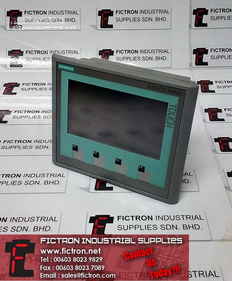6AV6 642-0BD01-3AX0 6AV66420BD013AX0 SIEMENS Touch Panel TP 177B 4 Inch Color HMI Unit Supply & Repair By Fictron SIEMENS HMI (Human Machine Interface)