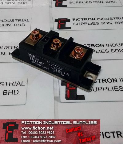 PK110F-80 PK110F80 FUJI ELECTRIC 100A 500V Power Module Supply Fictron Industrial Supplies