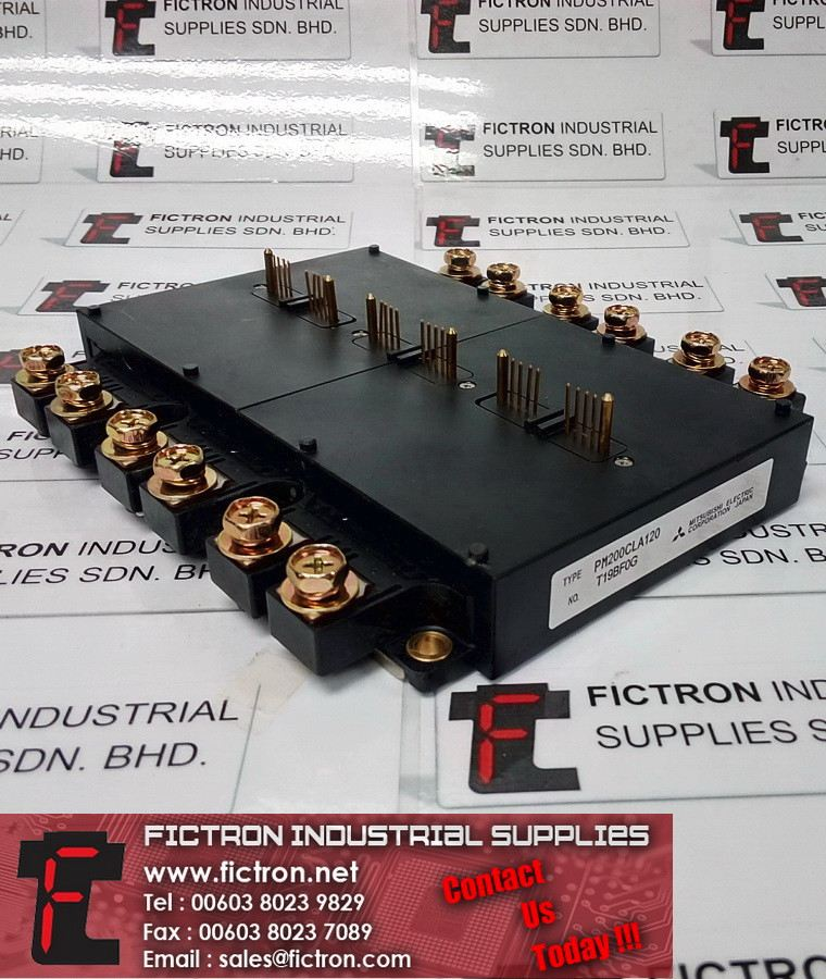 PM200CLA12 MITSUBISHI ELECTRIC Power Module IPM Supply Fictron Industrial Supplies MITSUBISHI Power Line/Modules