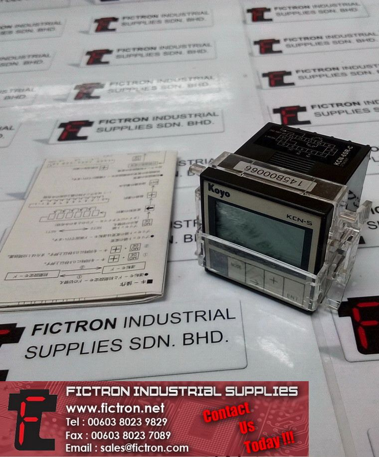KCN-6S4-C KCN6SRC KOYO Digital Electronic Counter Supply Fictron Industrial Supplies KOYO Measurement/Testing Device