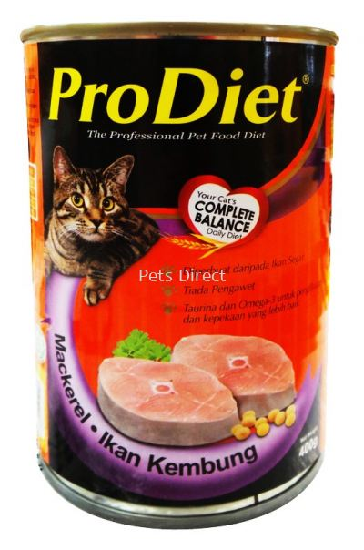 ProDiet Mackerel 400g