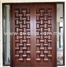 Solid Decorative 3D Doors
