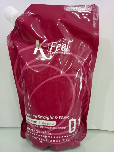 K-Feel Professional Premium Straight&Wave For Damaged Hair (D1) 1000ml