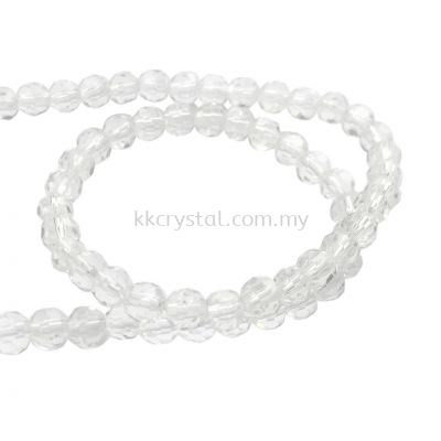 Crystal China, 4mm Round, B1 Crystal