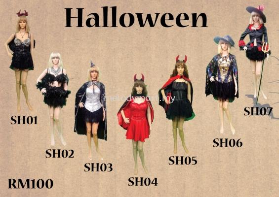 Halloween SH01-07