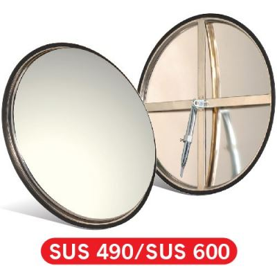 16086-490MM Indoor Convex Mirror-S.Steel