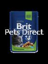 Brit Premium Chicken Slices For Sterilised 100g Brit Premium Cat Pouch (Wet Food)