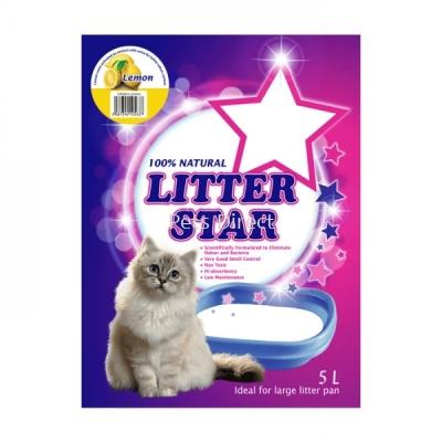 Litter Star Cat Litter Lemon 5L
