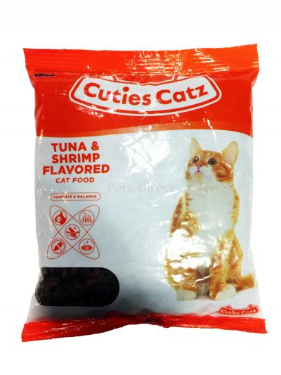 Cutie Catz Cat Food Tuna & Shrimp Flavored 400g