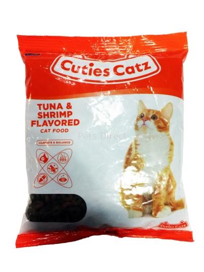 Cutie Catz Cat Food Tuna & Shrimp Flavored 400g