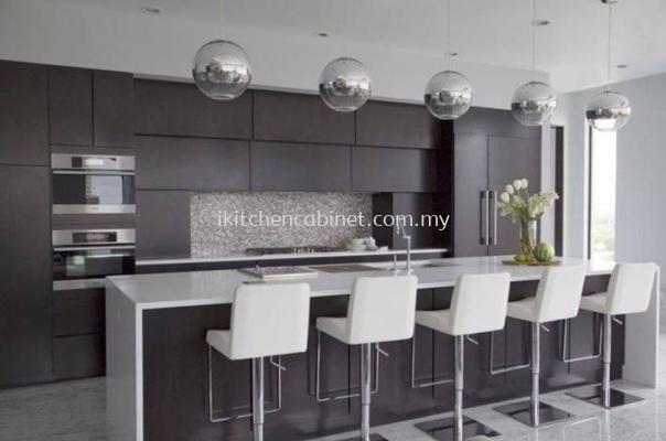 M20 - Kitchen & island cabinet with melamine door (Dark Grey)
