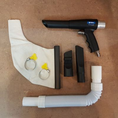Air Vacuum Gun Kit 150mm 25mm ID30281