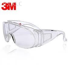 3M 1611 VISITOR CLEAR SAFETY GLASSES