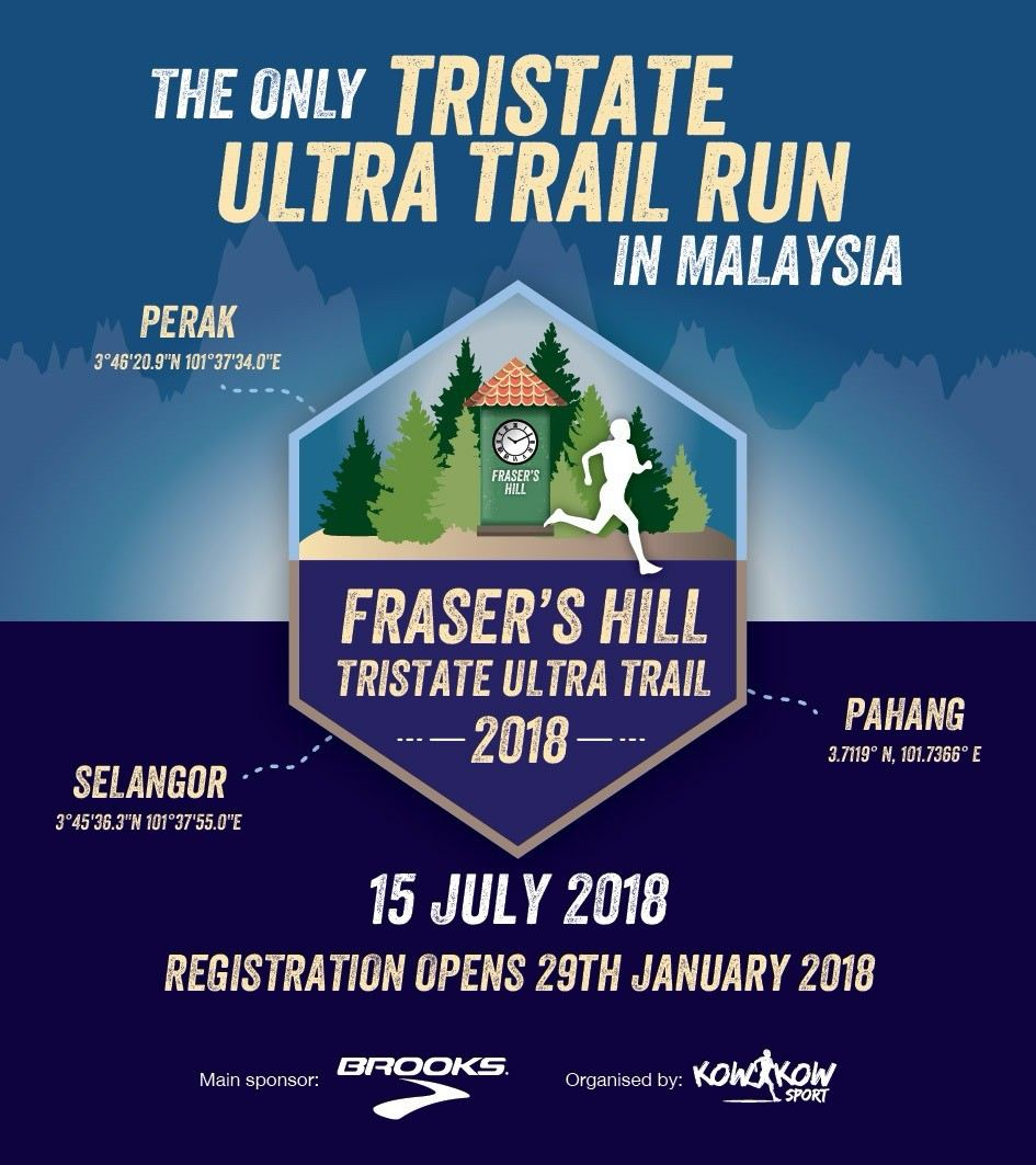 Fraser's Hill Tristate Ultra Trail 2018 July 2018 Year 2018 Past Listing