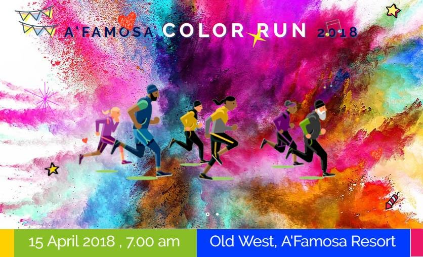 A'Famosa Color Run 2018 April 2018 Year 2018 Past Listing