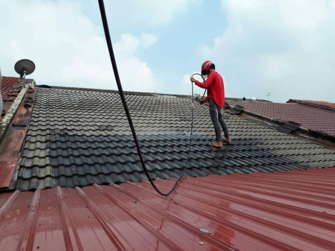 Roof Painting @Desa ParkCity Roofing Painting Service House Painting Service Kuala Lumpur, KL, Selangor, Malaysia. Painting Service, Contractor, One Stop | Xiang Sheng Construction