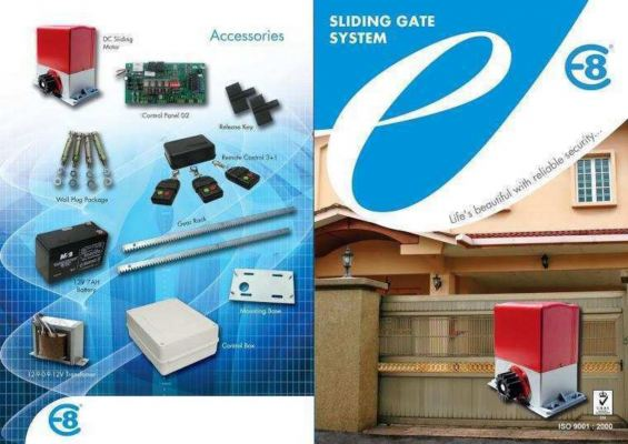 Supply & Installation Set Autogate System