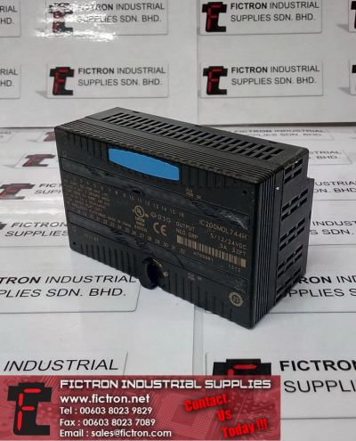 IC200MDL744H GE FANUC Output Module 5-24VDC Neg Grouped 5A 32Points PLC Module Supply & Repair Fictron Industrial Supplies