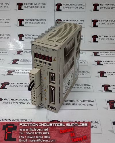 SGDM-04ADA SGDM04ADA YASKAWA SERVOPACK 0.4kW 300Hz 3Ph AC Servo Drive Supply & Repair Fictron Industrial Supplies