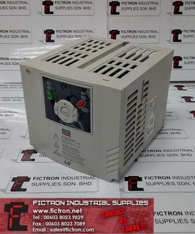 SV015iG5A-1 SV015iG5A1 LS INDUSTRIAL LG 3kVA 230VAC 1Ph to 3Phase 0.1-400Hz AC Inverter Drive Supply & Repair Fictron