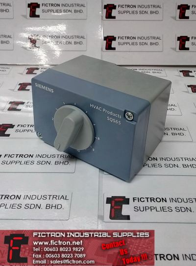SQS65U SIEMENS Electronic Valve Actuator HVAC Products Supply, Sale By Fictron Industrial Supplies
