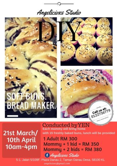 March & April 2018 Baking Class